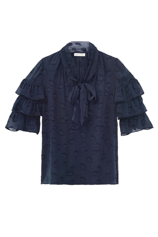 a897651c29c0b Tulip Clip Ruffle Top by Rebecca Taylor at ORCHARD MILE