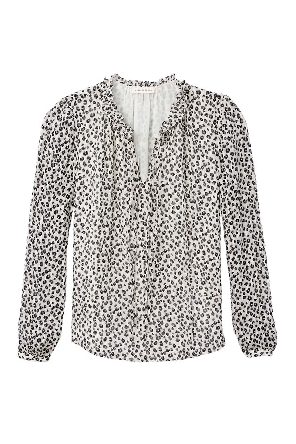 7bbb0f6a96 Mini Cheetah Clip Top by Rebecca Taylor at ORCHARD MILE