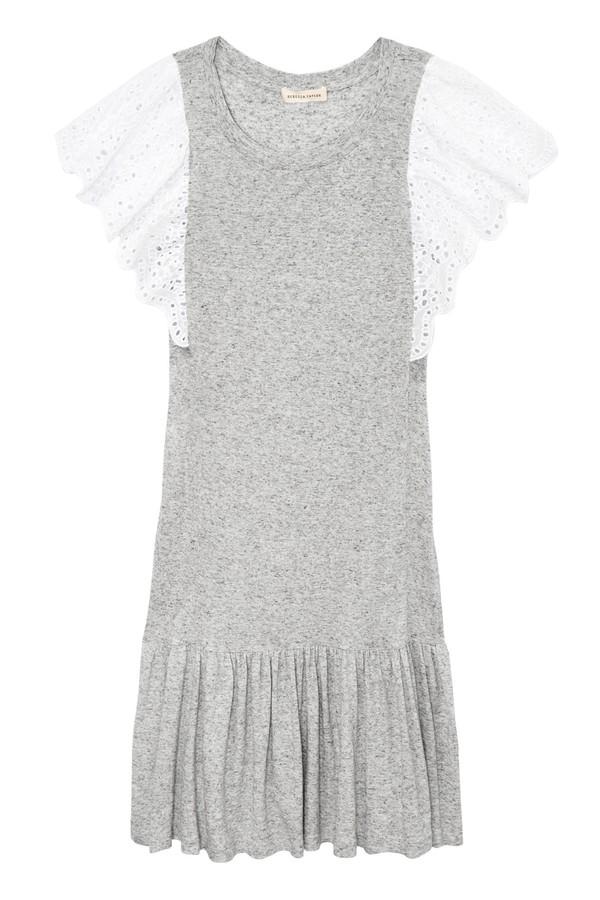 4f0771cca9a Livy Eyelet Jersey Dress