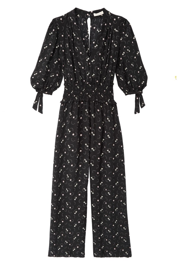 55def21ce3 Alisia Floral Silk Jumpsuit by Rebecca Taylor at ORCHARD MILE