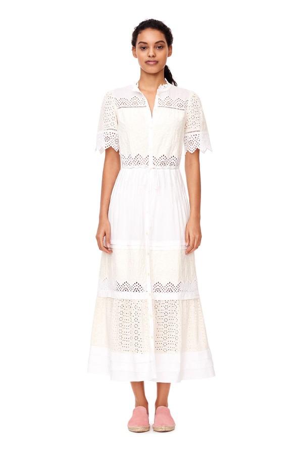 139fa89936b La Vie Embroidered Voile Dress by Rebecca Taylor