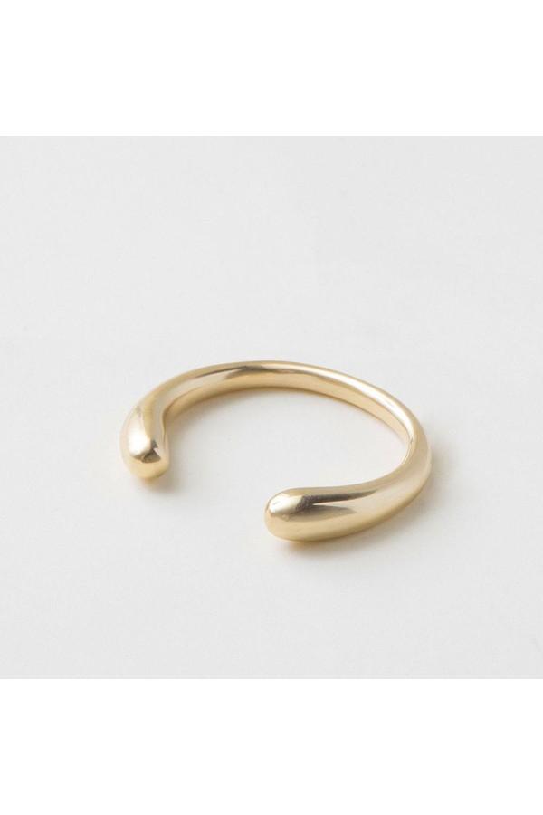 Soko Open Oval Link Bracelet Brass wv0ijP