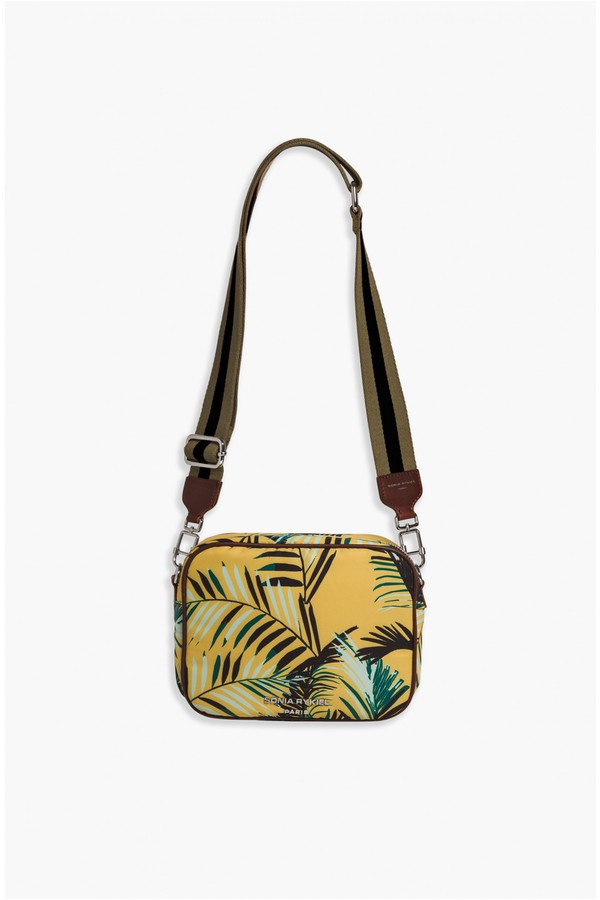 d475a803a Forever Nylon Palm Print Camera Bag by Sonia Rykiel at ORCHARD MILE