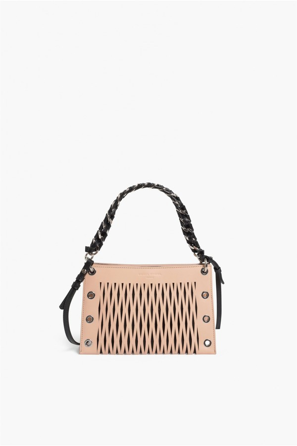 Calfskin In Rykiel Sonia Leather Double By At Baltard Pouch wtfHxqPgR