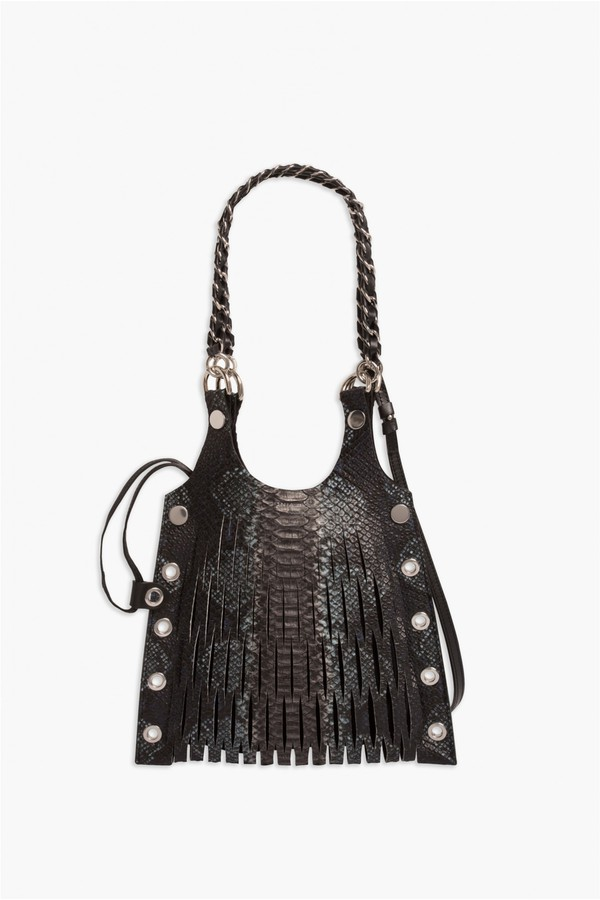 1def6efd73 Le Baltard Python Calfskin Mini Tote by Sonia Rykiel at ORCHARD MILE