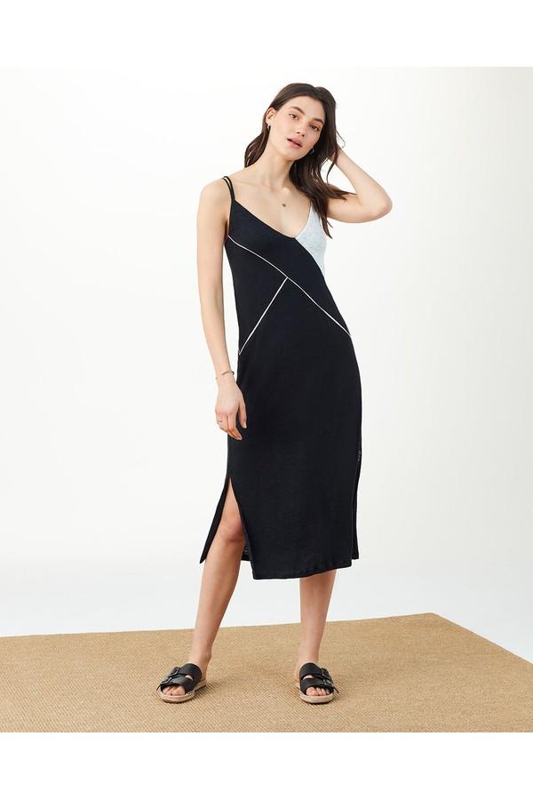 82313adfdc4 Splendid X Margherita Positano Slip Dress Midnight Black by...