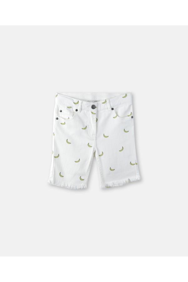 498a35454c1e3 Banana Print Denim Shorts by Stella McCartney Kids at ORCHARD MILE