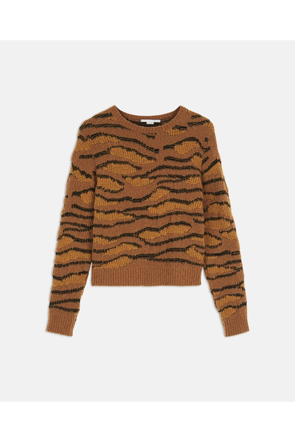 109d0fd11ee Tiger Camouflage Sweater by Stella McCartney at ORCHARD MILE