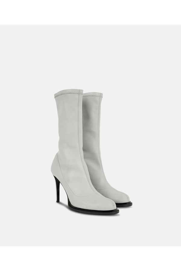 001cc66692b White Ankle Boots by Stella McCartney at ORCHARD MILE