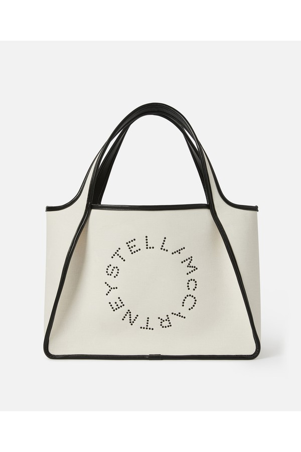 Stella Logo Eco Denim Tote Bag by Stella McCartney at ORCHARD MILE f8f43a96d5