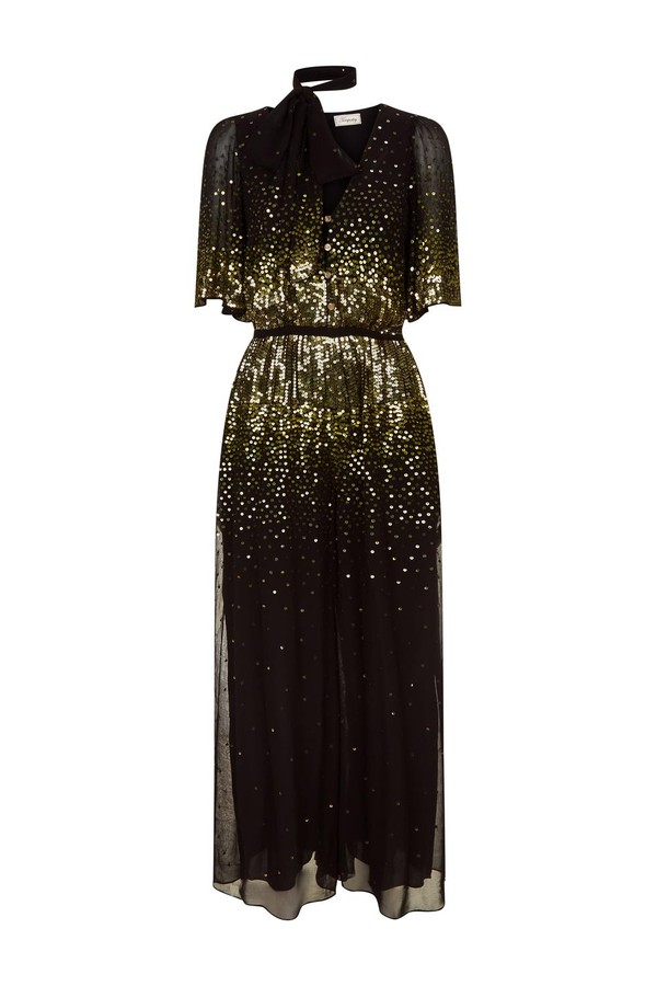 ec33235b87d Ruth Sequin Jumpsuit by Temperley London at ORCHARD MILE