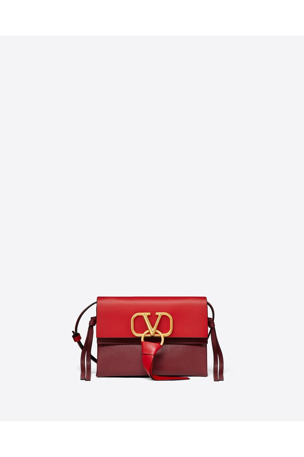 a328a70b8de Small Vring Smooth Calfskin Crossbody Bag by Valentino at ORCHARD MILE