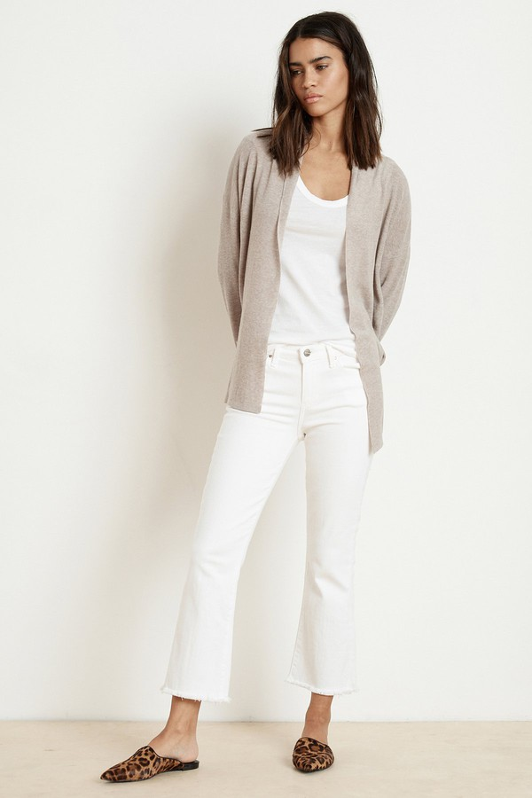 8bad4a42714a8d Jurnee Lux Cotton Knit Cardigan by Velvet by Graham & Spencer at...