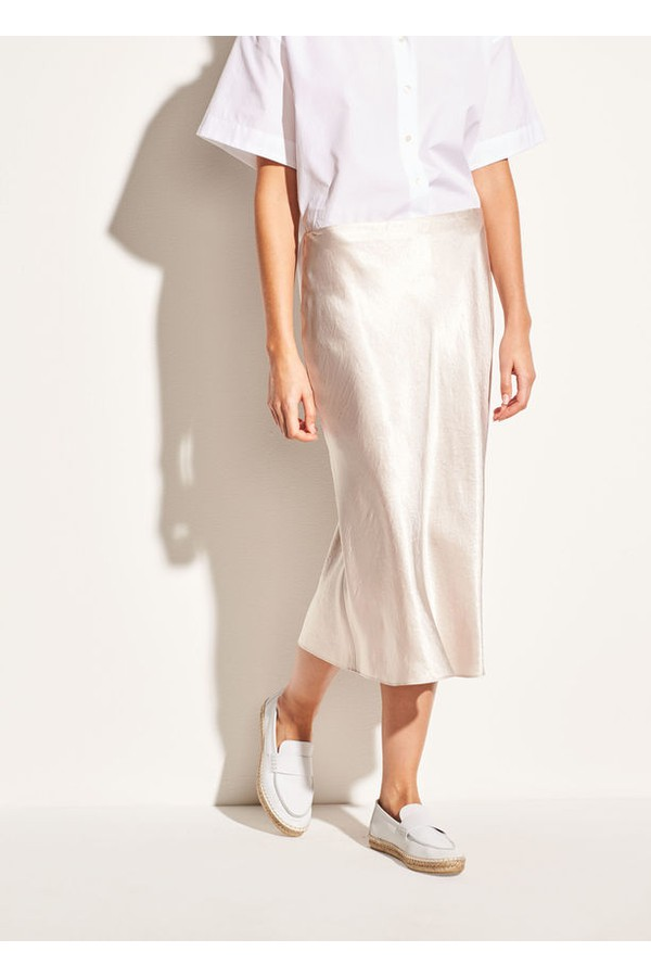 12deacd2e06b0f Satin Slip Skirt by Vince at ORCHARD MILE