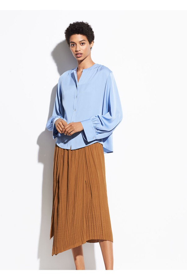c8eee95d7d Crinkle Pleat Skirt by Vince at ORCHARD MILE