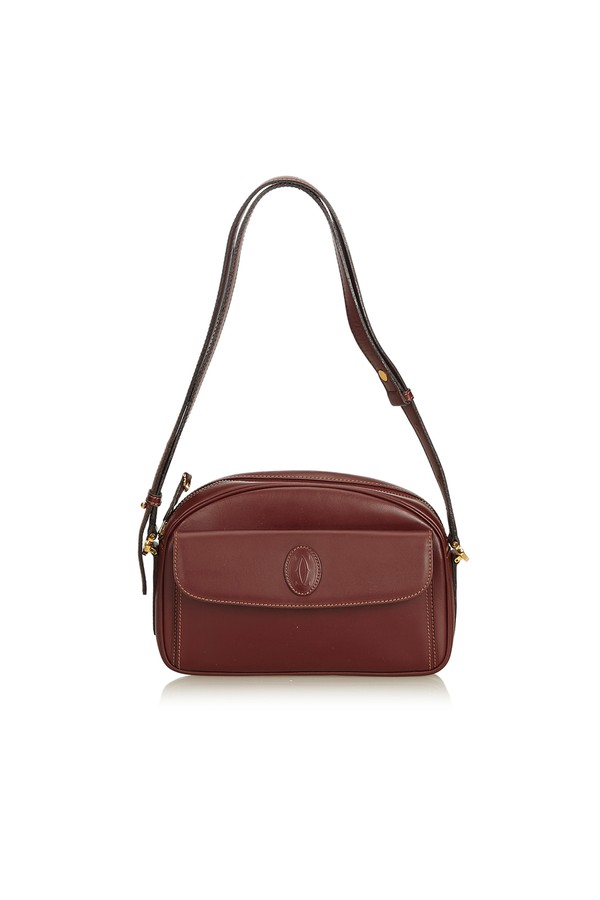 Leather Must De Cartier Crossbody Bag by Vintage Cartier at... 26dff27bbd