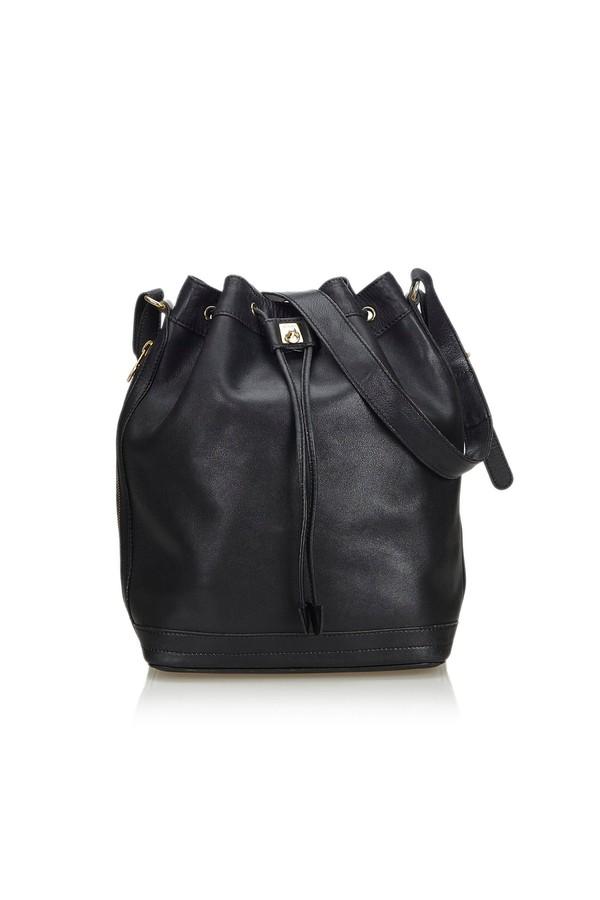 Leather Bucket Bag by Vintage Celine at ORCHARD MILE 47d042d472dce