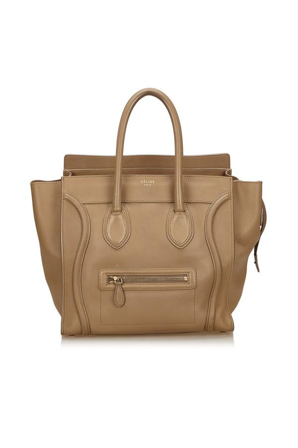 45ab1a64c580 Mini Luggage Bag by Vintage Celine at ORCHARD MILE