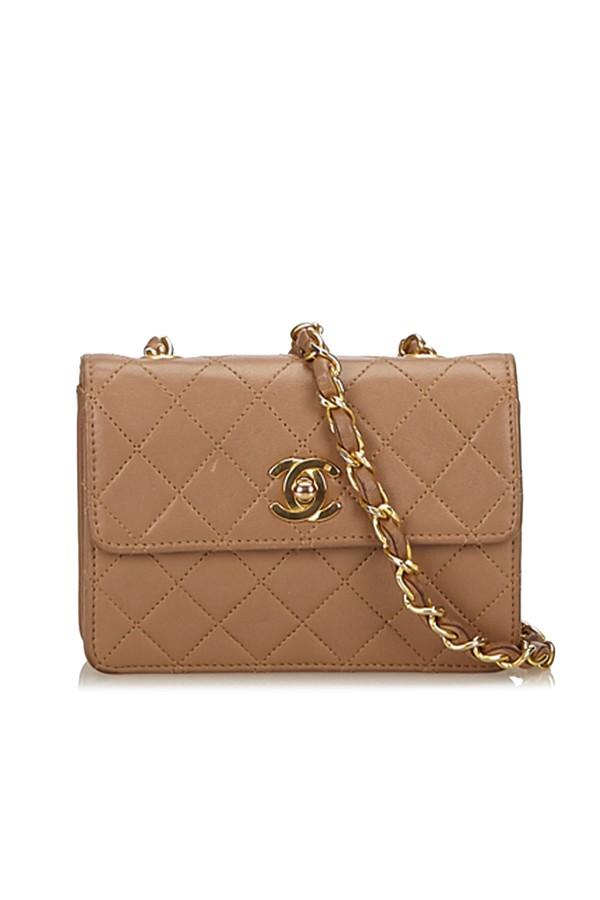 427867abfcb Matelasse Leather Chain Flap Shoulder Bag by Vintage Chanel at...