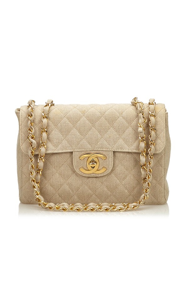 2c6a1f909209 Jumbo Matelasse Denim Flap Bag by Vintage Chanel at ORCHARD MILE