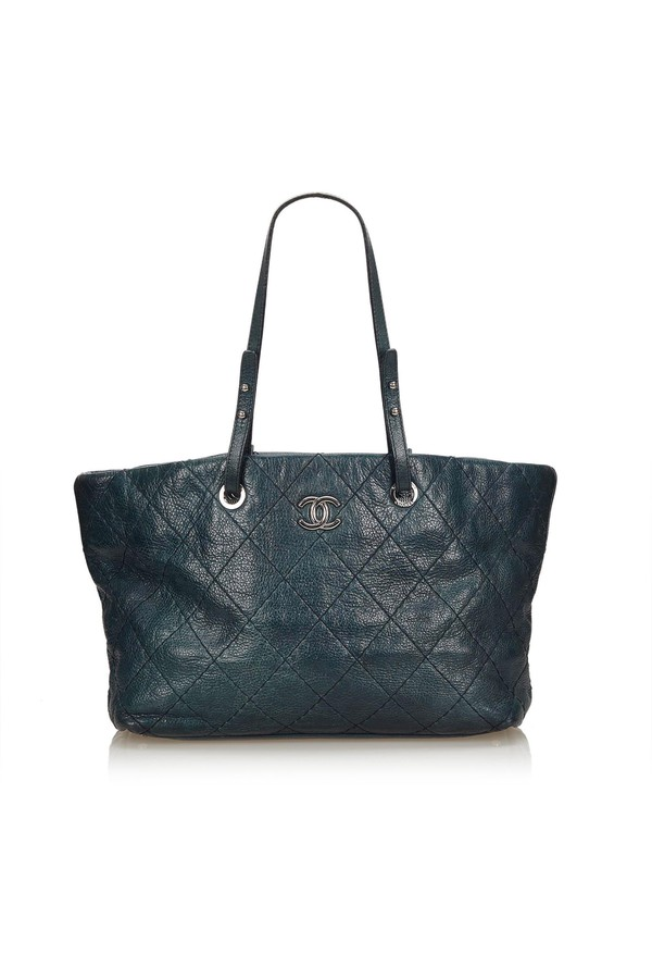 90066fef68b5 Soft Caviar Tote Bag by Vintage Chanel at ORCHARD MILE
