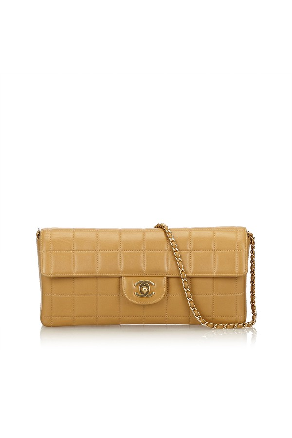 9fce80d1fcbd East West Chocolate Bar Flap by Vintage Chanel at ORCHARD MILE