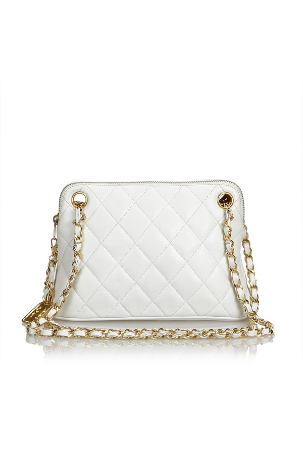 31ca451e7af62d Quilted Lambskin Shoulder Bag by Vintage Chanel at ORCHARD MILE