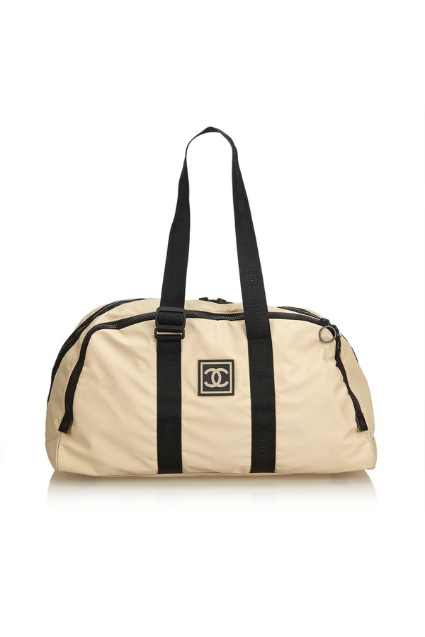 bef45b4e4d0b Cc Nylon Sport Line Duffle Bag by Vintage Chanel at ORCHARD MILE