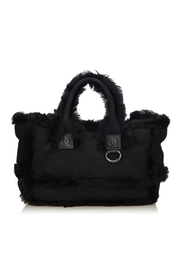 a85e02775d93 Fur Tote Bag by Vintage Chanel at ORCHARD MILE
