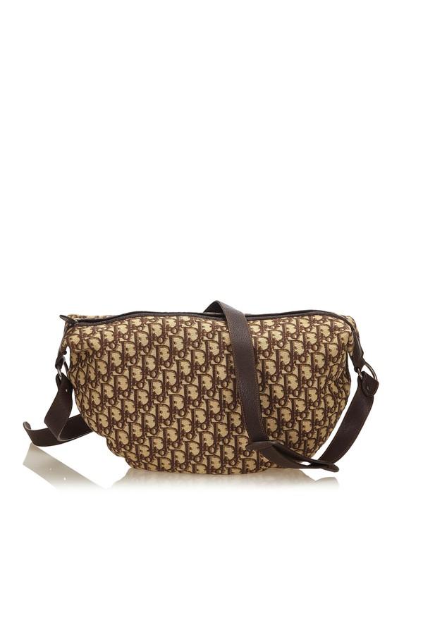 95dfffdd0daa Oblique Jacquard Shoulder Bag by Vintage Dior at ORCHARD MILE