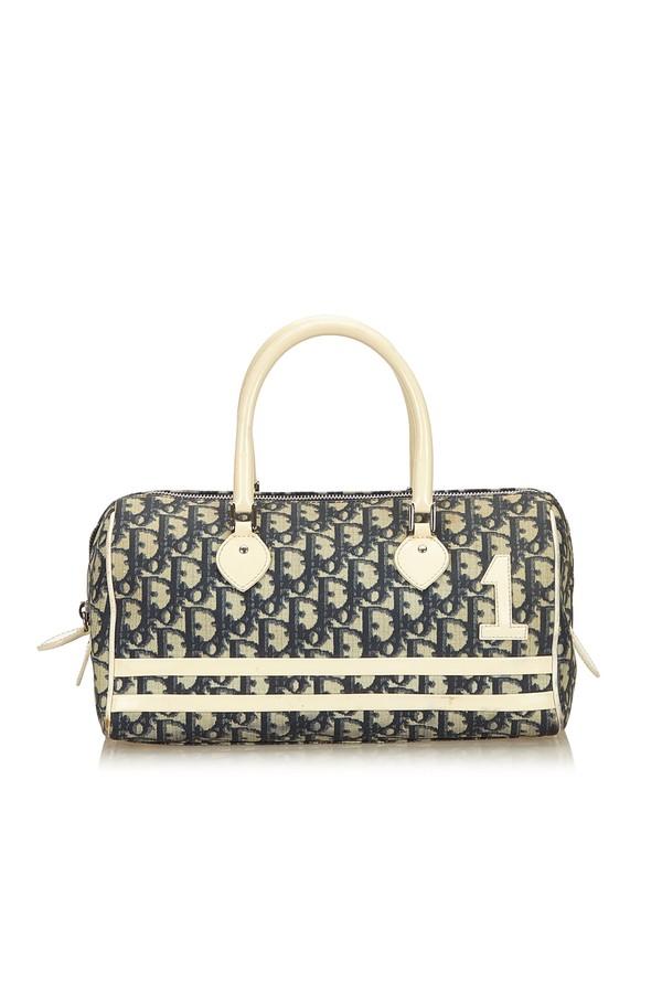 14ec99dfda46 Oblique Trotter Boston Bag by Vintage Dior at ORCHARD MILE