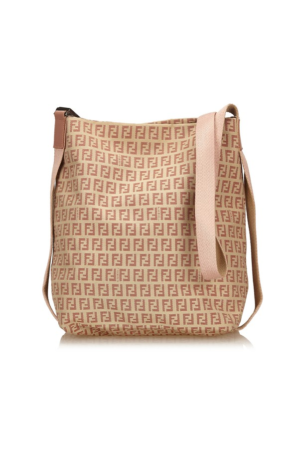 Zucchino Jacquard Shoulder Bag by Vintage Fendi at ORCHARD MILE 86d9eda768ab7