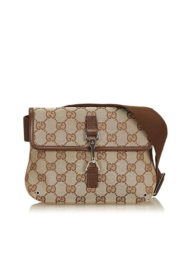 809c3a8212cedd Guccissima Jacquard Belt Bag by Vintage Gucci at ORCHARD MILE