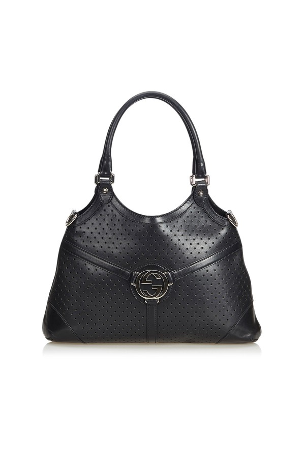 34bc99844e Double G Leather Tote Bag by Vintage Gucci at ORCHARD MILE
