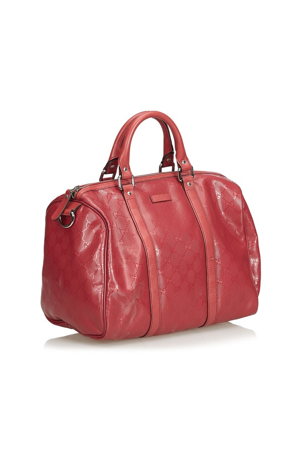 b62c481c0a1a Imprime Guccissima Boston Bag by Vintage Gucci at ORCHARD MILE