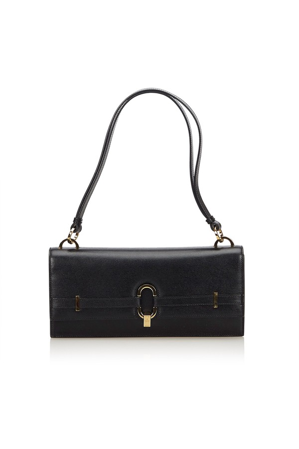 9a46dff4e8b1 Leather Shoulder Bag by Vintage Gucci at ORCHARD MILE
