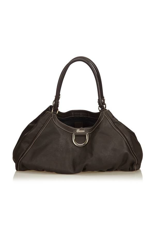 8eb97496a01dcf Guccissima Leather Abbey D-Ring Shoulder Bag by Vintage Gucci at...