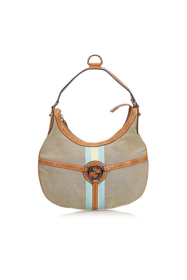 59999296ecb Canvas Reins Hobo by Vintage Gucci at ORCHARD MILE