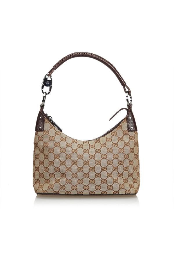 13cf48d5946 Gg Jacquard Hobo Bag by Vintage Gucci at ORCHARD MILE