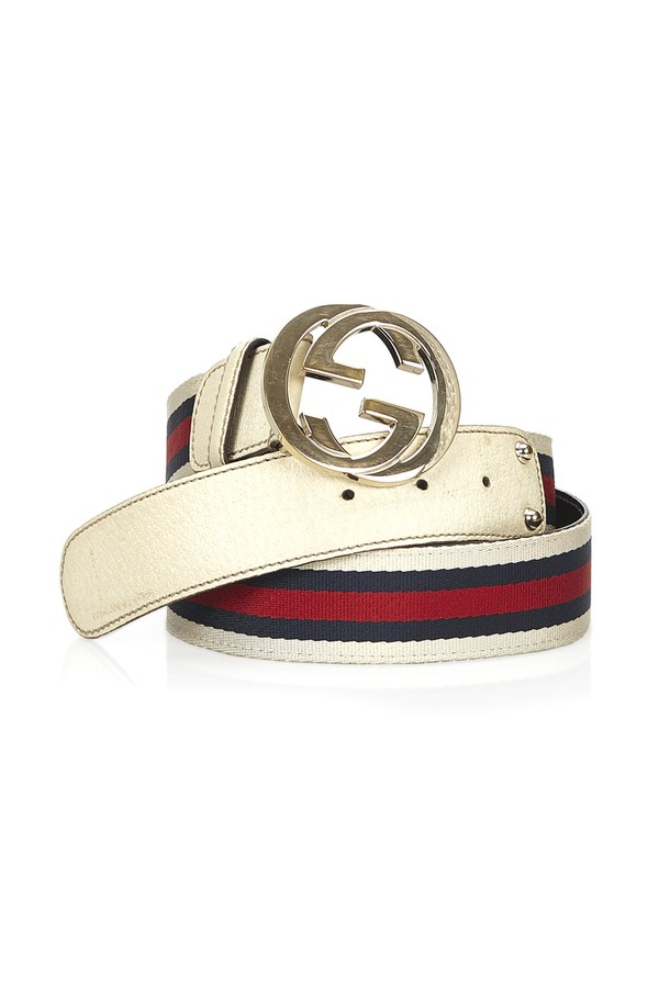 ce719a4dc34 Double G Belt by Vintage Gucci at ORCHARD MILE