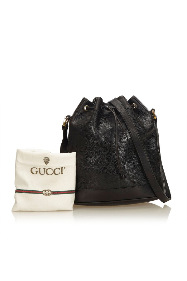 36d68f2de3ce Old Gucci Drawstring Bag by Vintage Gucci at ORCHARD MILE