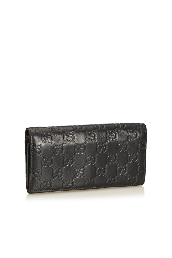 fd19fe8258bf Guccissima Continental Wallet by Vintage Gucci at ORCHARD MILE