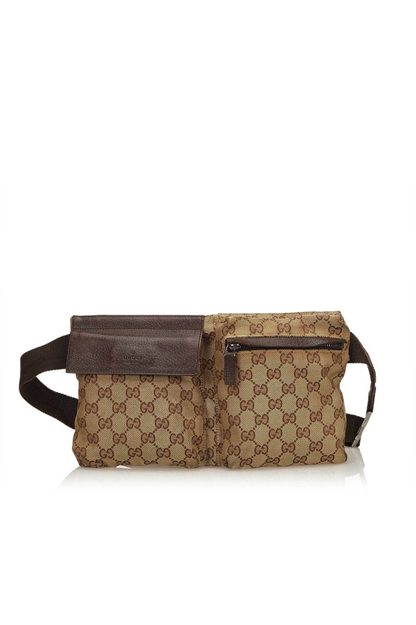 2f06f9801de Guccissima Canvas Belt Bag by Vintage Gucci at ORCHARD MILE
