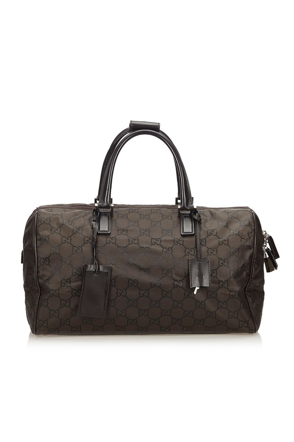763aff2009ea Guccissima Nylon Travel Bag by Vintage Gucci at ORCHARD MILE