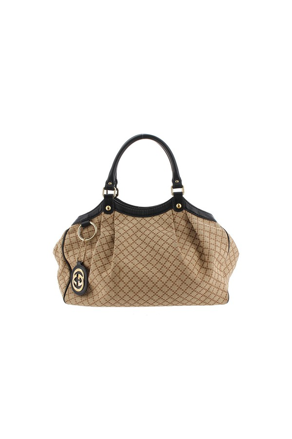 0507109f2946 Diamante Canvas Sukey Handbag by Vintage Gucci at ORCHARD MILE