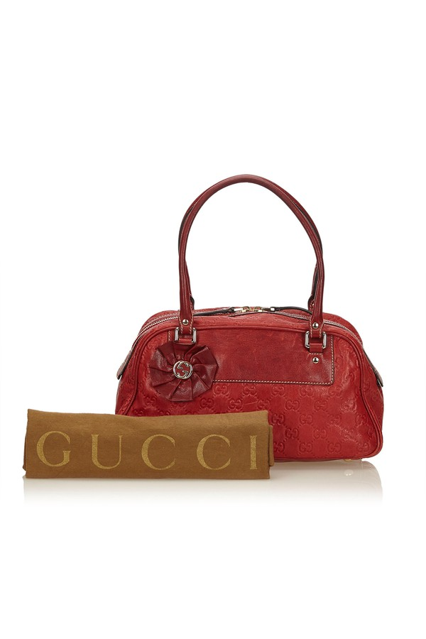 35f7447b940e Guccissima Leather Trophy Shoulder Bag by Vintage Gucci at ORCHARD...