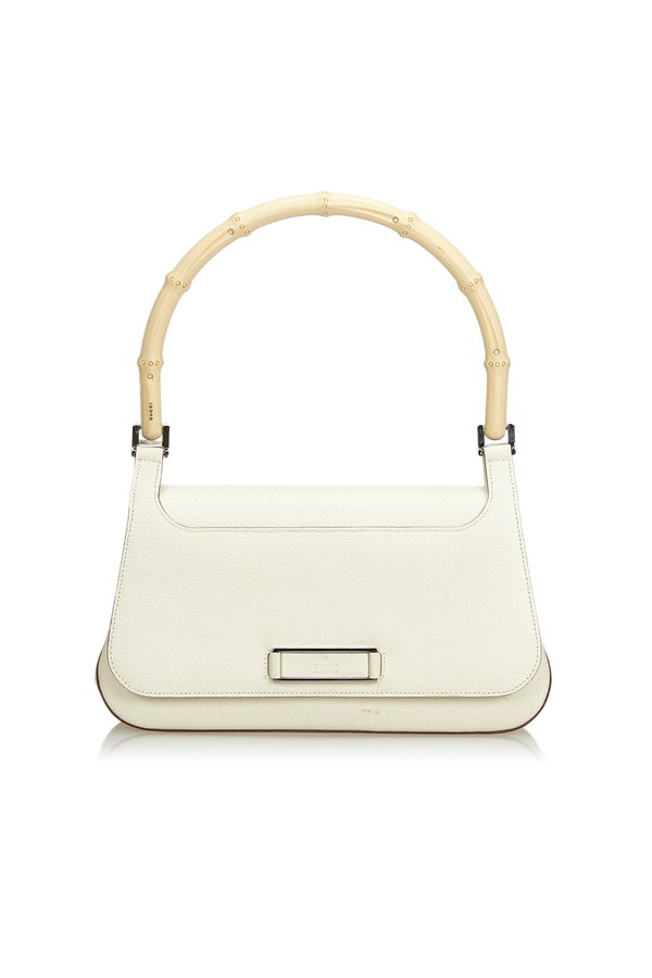 beff54d1fbe Bamboo Leather Handbag by Vintage Gucci at ORCHARD MILE