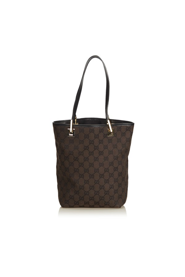 7c8a765dde1d42 Guccissima Canvas Tote by Vintage Gucci at ORCHARD MILE