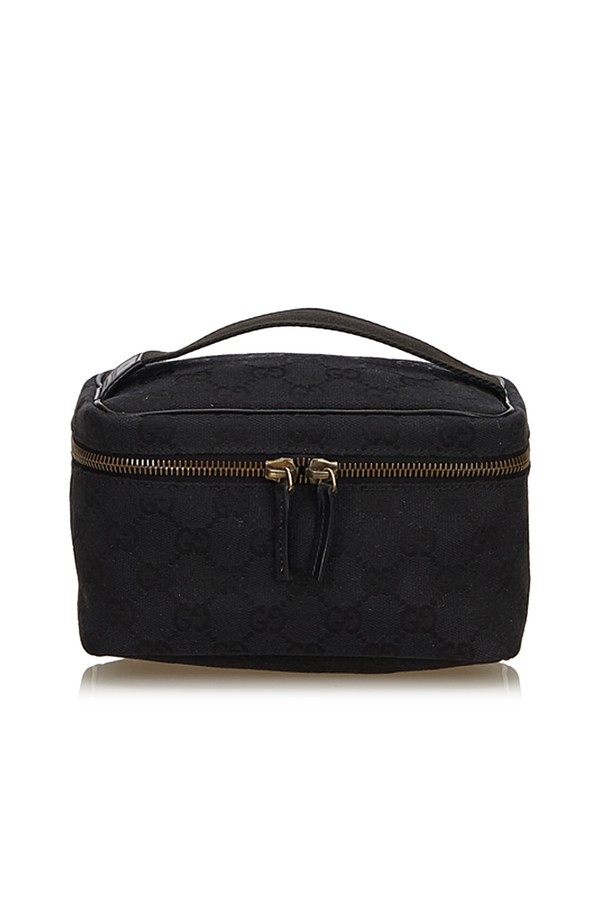 b74c19edcb1fce Guccissima Jacquard Vanity Bag by Vintage Gucci at ORCHARD MILE