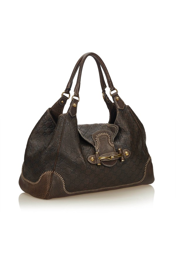 21cd97d96b1a Guccissima Leather New Pelham Hobo Bag by Vintage Gucci at ORCHARD...